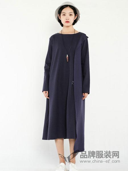 JAKET休闲2018秋冬宽松大码蝙蝠袖针织棉黑色连衣裙袍子