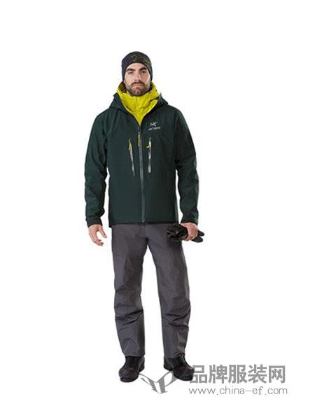 Arc teryx运动装2018秋冬男款耐磨透湿攀登冲锋衣