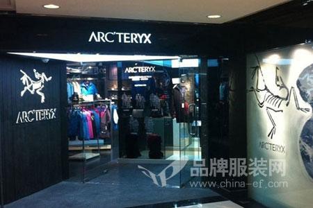 Arc teryx店铺展示