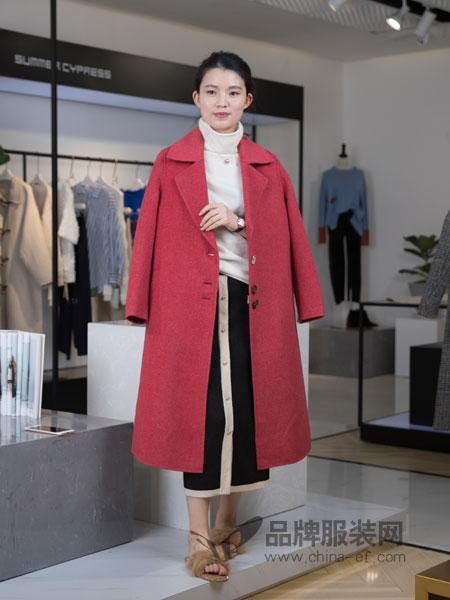 IreneCee女装2018秋冬简约纯色修身显瘦羊毛大衣