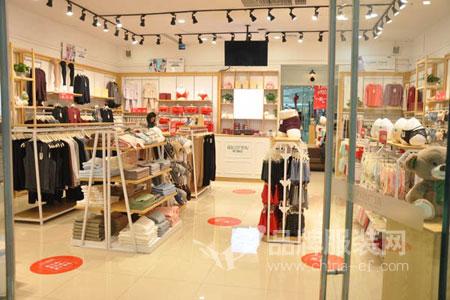港莎棉品店铺展示