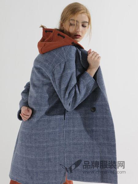 ZIRONG子容女装2018秋冬连帽加厚短款棉衣棉袄外套