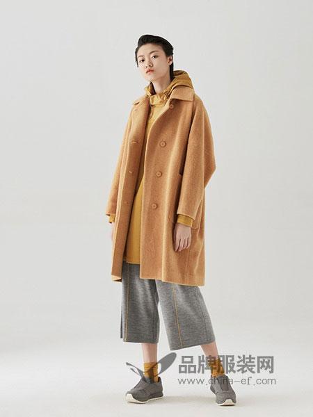 容子木女装2018秋冬长款双面羊毛大衣