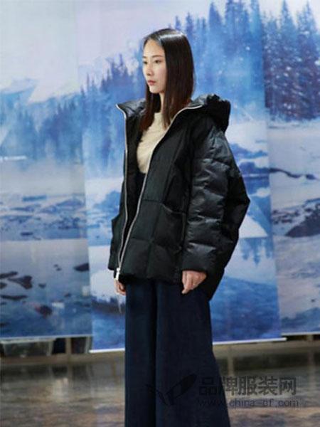 纯粹女装女装2018秋冬中长款大衣绵羊皮宽松外套休闲蝙蝠衫