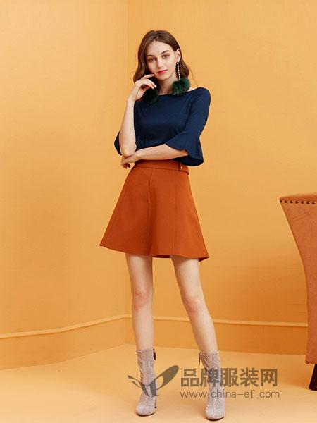 卓多姿女装2018秋冬新款韩版修身显瘦上衣