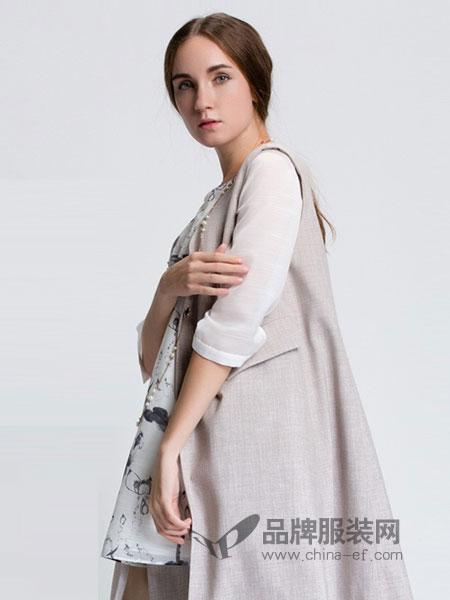 Aline阿莱女装2018秋冬外套开衫中长款针织衫长袖衫披肩百搭