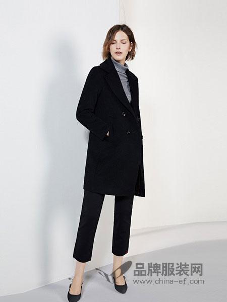 傲丝度女装2018秋冬韩版宽松百搭时尚大衣仿水貂绒开衫