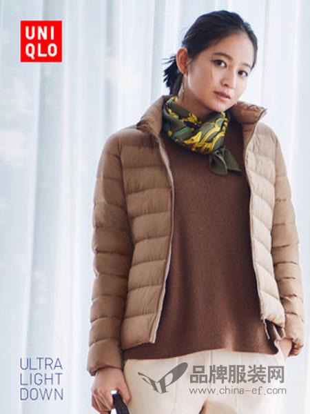 优衣库|UNIQLO女装2018秋冬高级轻型羽绒茄克