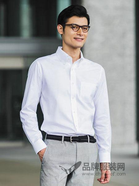 优衣库|UNIQLO男装2018秋冬高性能修身防皱衬衫(长袖)