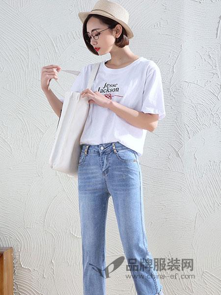 美酷思女装2018秋冬宽松雪纺衫显瘦七分袖上衣洋气小衫