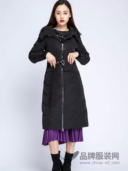 浩洋国际女装2018冬季韩版宽松大码棉袄加厚棉