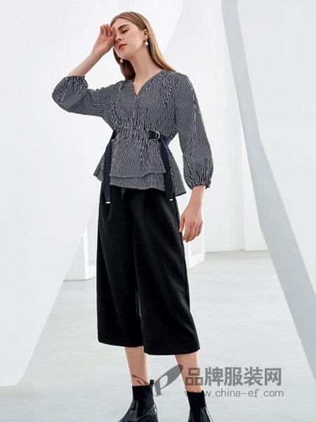 欧米媞女装2018冬季新款时尚收腰小衫韩版百搭