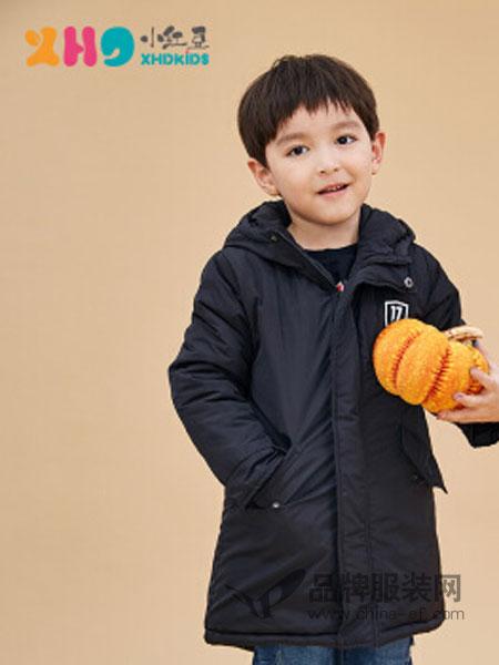 小红豆童装童装2018秋冬休闲韩版外套中长款
