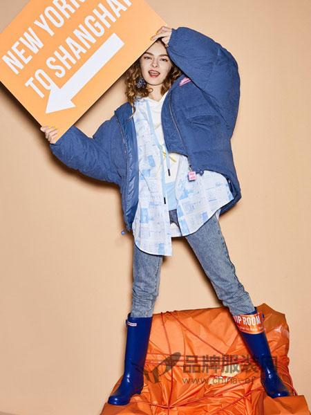 MATERIAL GIRL女装2018秋冬字母刺绣直筒连帽系带中长款风衣外套