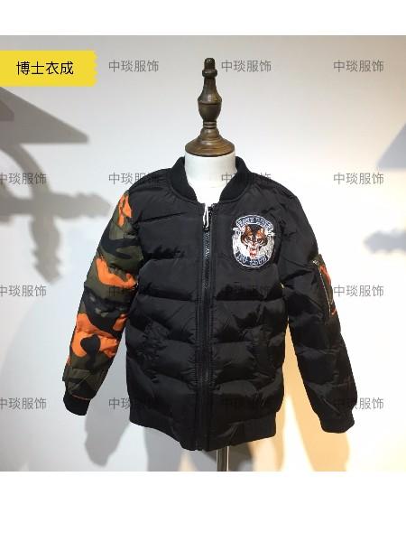 男童品牌折扣童装 博士衣成冬装外套