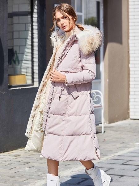 奥依岛女装2018冬季羽绒服