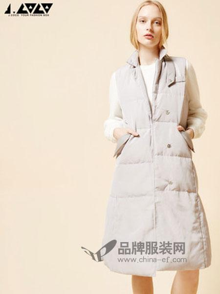 J.COCO女装2018秋冬韩版加绒保暖羽绒服外套