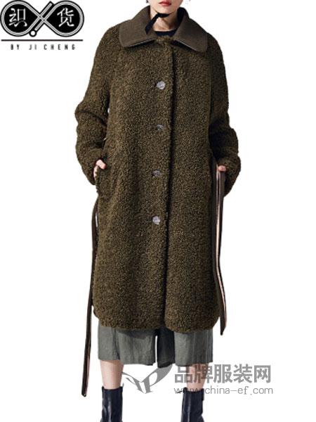 吉承休闲2018秋冬中长款大衣毛呢子外套