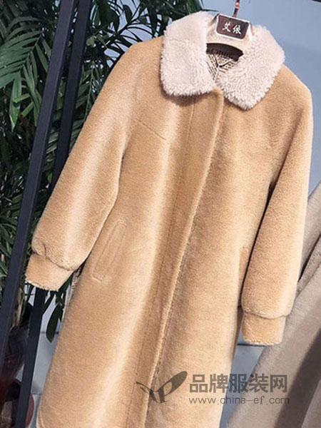 子恒国际女装2018秋冬新款女装时尚修身呢大衣小棉衣棉袄百搭羽绒棉服外套