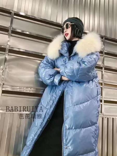 广州明浩品牌折扣女装服装批发2017冬季新品