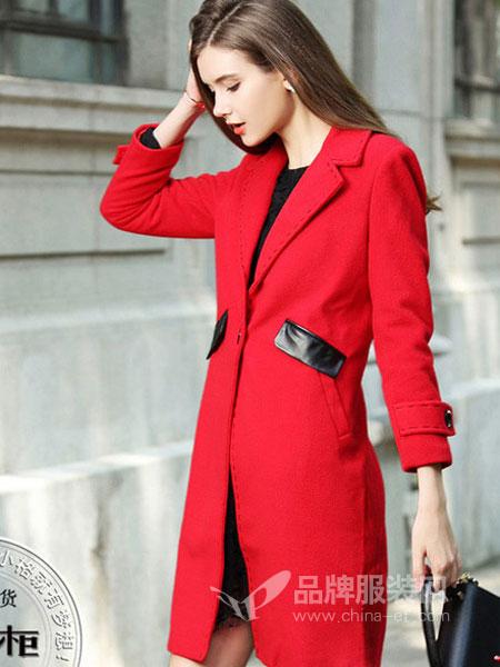 芝麻E柜女装2018冬季休闲套装两件套港味显瘦洋气连衣裙外套