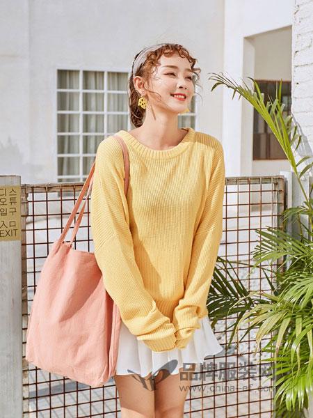 天使韩城TSHC女装2018秋冬百搭款高领毛衣 打底针织衫