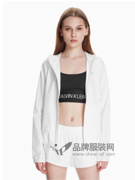 Calvin Klein休闲2018秋冬连帽运动外套