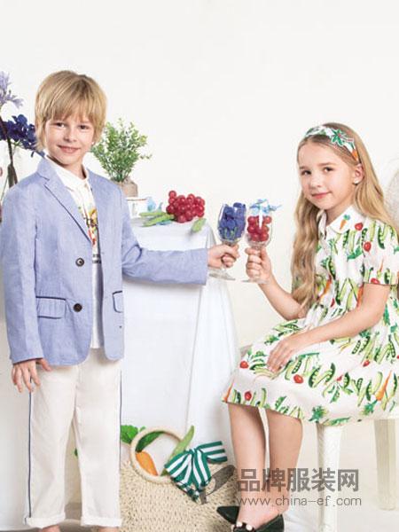 铅笔俱乐部童装品牌2019春夏经典休闲修身丝绒西装西服礼服