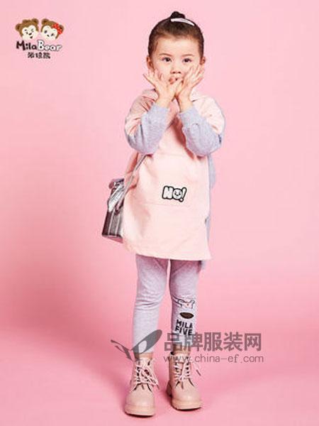 米拉熊童装品牌2019春季洋气卫衣儿童卫衣女孩