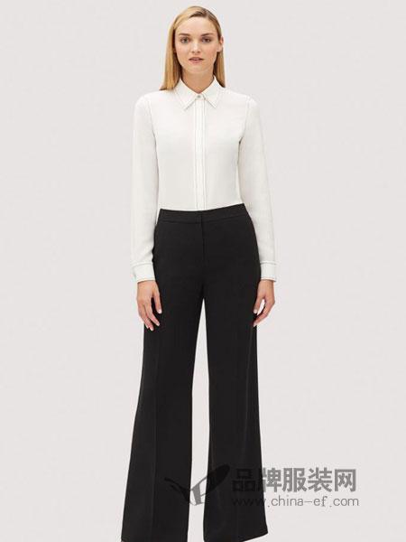 Lafayette148女装品牌2019春夏长袖衬衫两件套