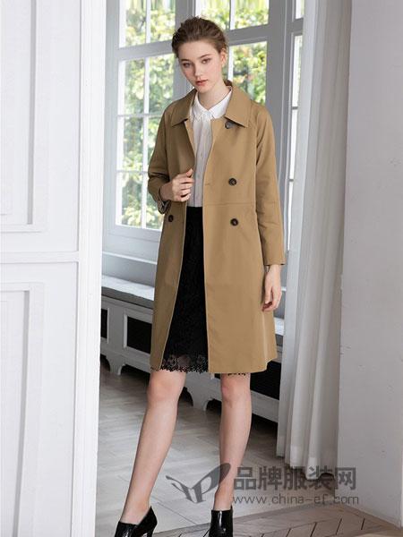 武汉爱弗瑞服饰有限公司女装品牌2018秋冬羊剪绒皮草羊毛大衣外套