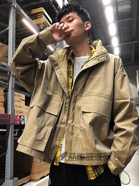 唐狮休闲品牌2019春季立领夹克潮流短款港风宽松青少年韩版