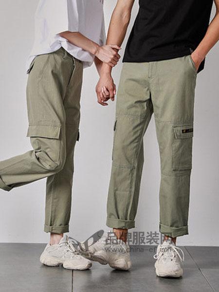 唐狮休闲品牌2019春季韩版长袖女街头套头情侣卫衣潮流外套