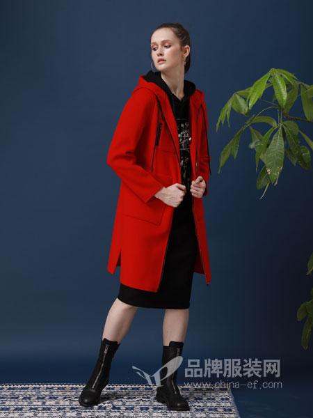ZIRONG子容女装品牌2019春季韩版淑女中长款外套