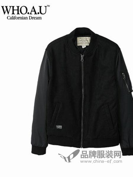 WHO.A.U女装品牌2019春季夹克运动休闲