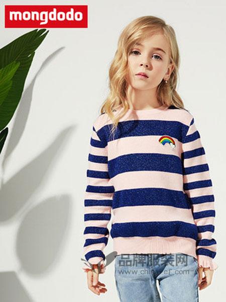 梦多多童装品牌2019春季甜美针织衫