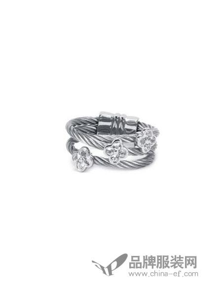 Charriol夏利豪女装品牌2018秋冬戒指 简约可爱配饰戒指指环