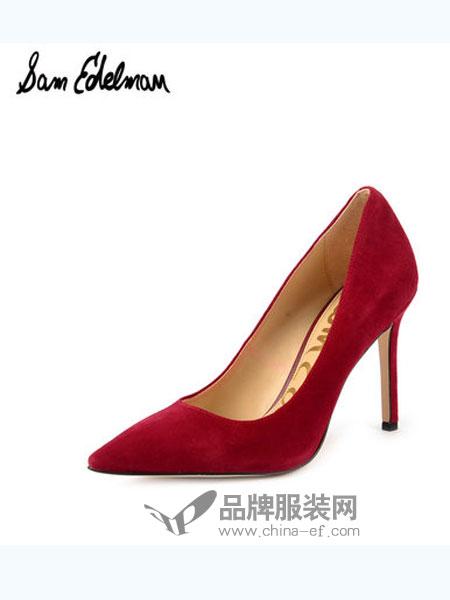山姆·爱德曼鞋帽品牌浅口优雅尖头单鞋