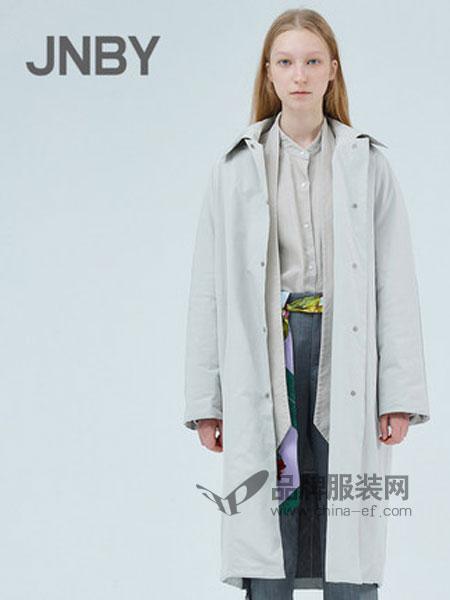 江南布衣女装品牌2019春季两面穿羽绒服外套