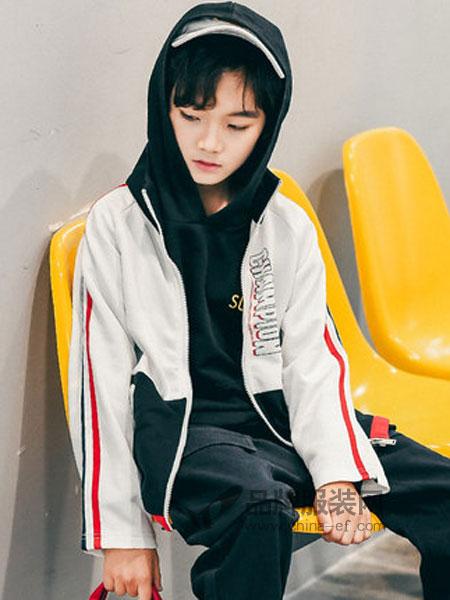 童鲨 Tomysasa童装品牌2019春季韩版休闲帅气外套