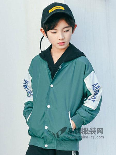 童鲨 Tomysasa童装品牌2019春季休闲棒球服中大童韩版