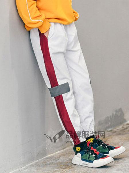 童鲨 Tomysasa童装品牌2019春季运动裤子长裤