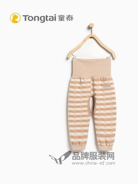 童泰童装品牌2018秋冬高腰护肚裤开裆裤
