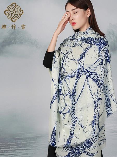 国蕴丝绸丝巾品牌2018冬季新品