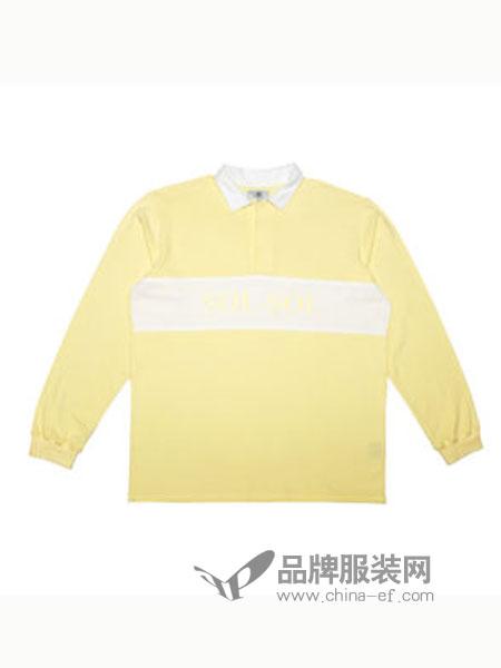 SOL-SOL男装品牌2018秋冬潮牌翻领套头卫衣休闲外套