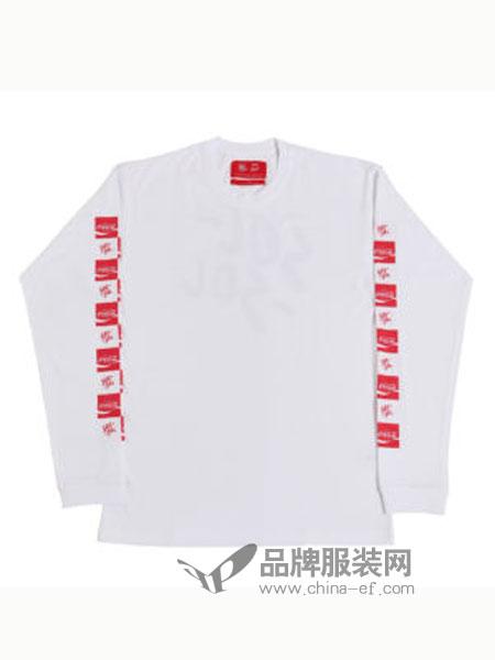 SOL-SOL男装品牌2018秋冬长袖口袋短袖 滑板t恤