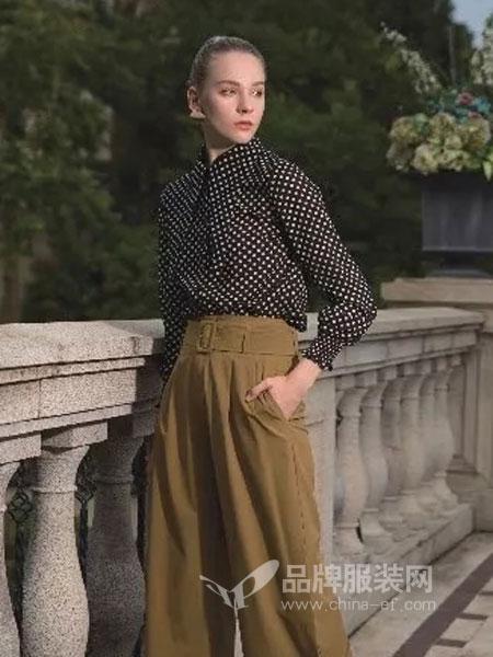 依贝奇女装品牌2019春季新款韩版宽松上衣百搭打底小衫