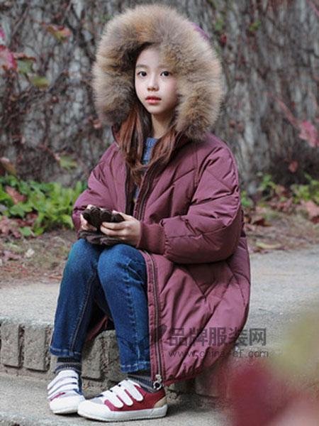MEMENE KIDS米米你童装品牌2018秋冬棉衣真毛领童棉衣