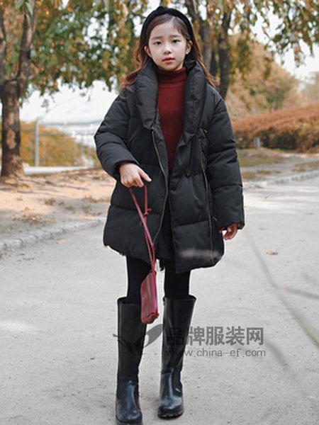 MEMENE KIDS米米你童装品牌2018秋冬棉衣面包领