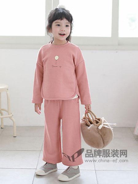 嘟呗童装品牌2019春季套装童时尚休闲